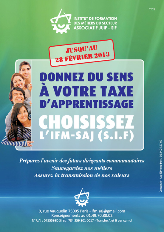 Campagne Taxe apprentissage