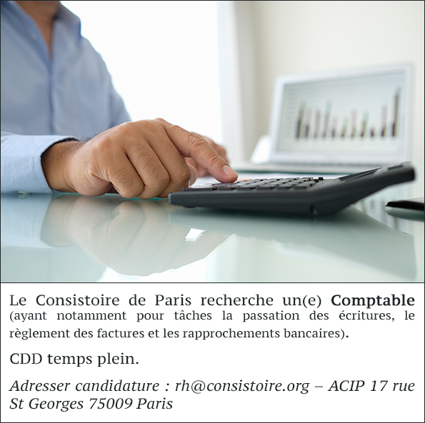 Annonce Comptable