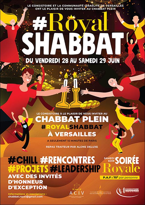 Chabbat Royal des Jeunes Leaders à Versailles
